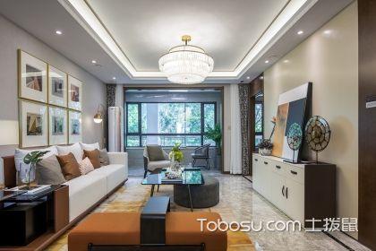 140平四室两厅装修案例,大户型这样设计真是太赞了!