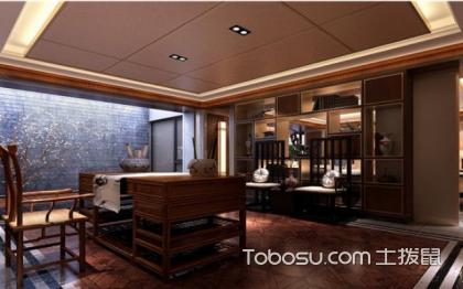 中式風格書房裝修效果圖,走進古典空間