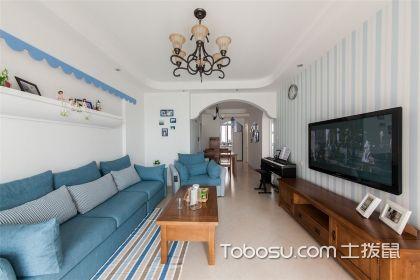 三室两厅地中海风格家装案例,给您呈现不一样的装饰美感