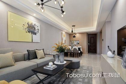 80平三室兩廳裝修案例,現代時尚家居帶給你舒適生活