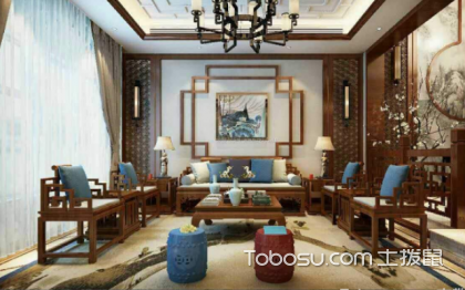 中式风背景墙装修案例,充满韵味的设计案例