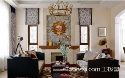 美式装修窗帘效果图,自然舒适全靠它