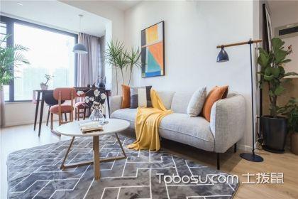 兩居室戶型設計案例,業主選擇了北歐風