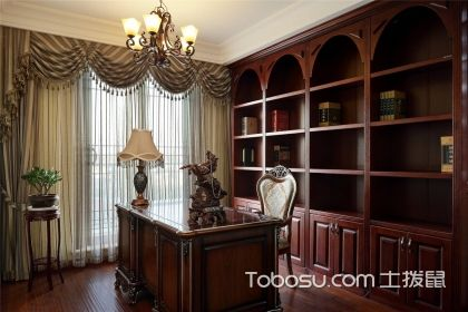 書房裝修風格有哪些?四大書房裝修風格推薦