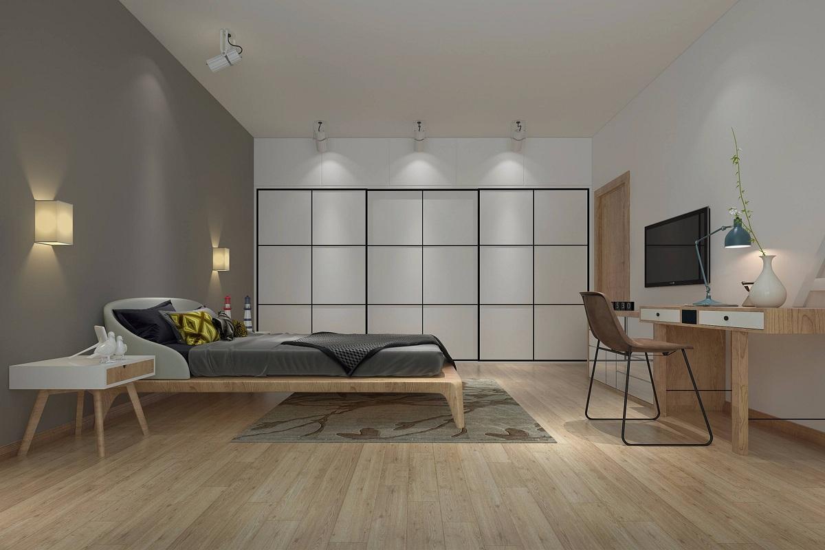 日式卧室装修效果图,既恬淡又温馨