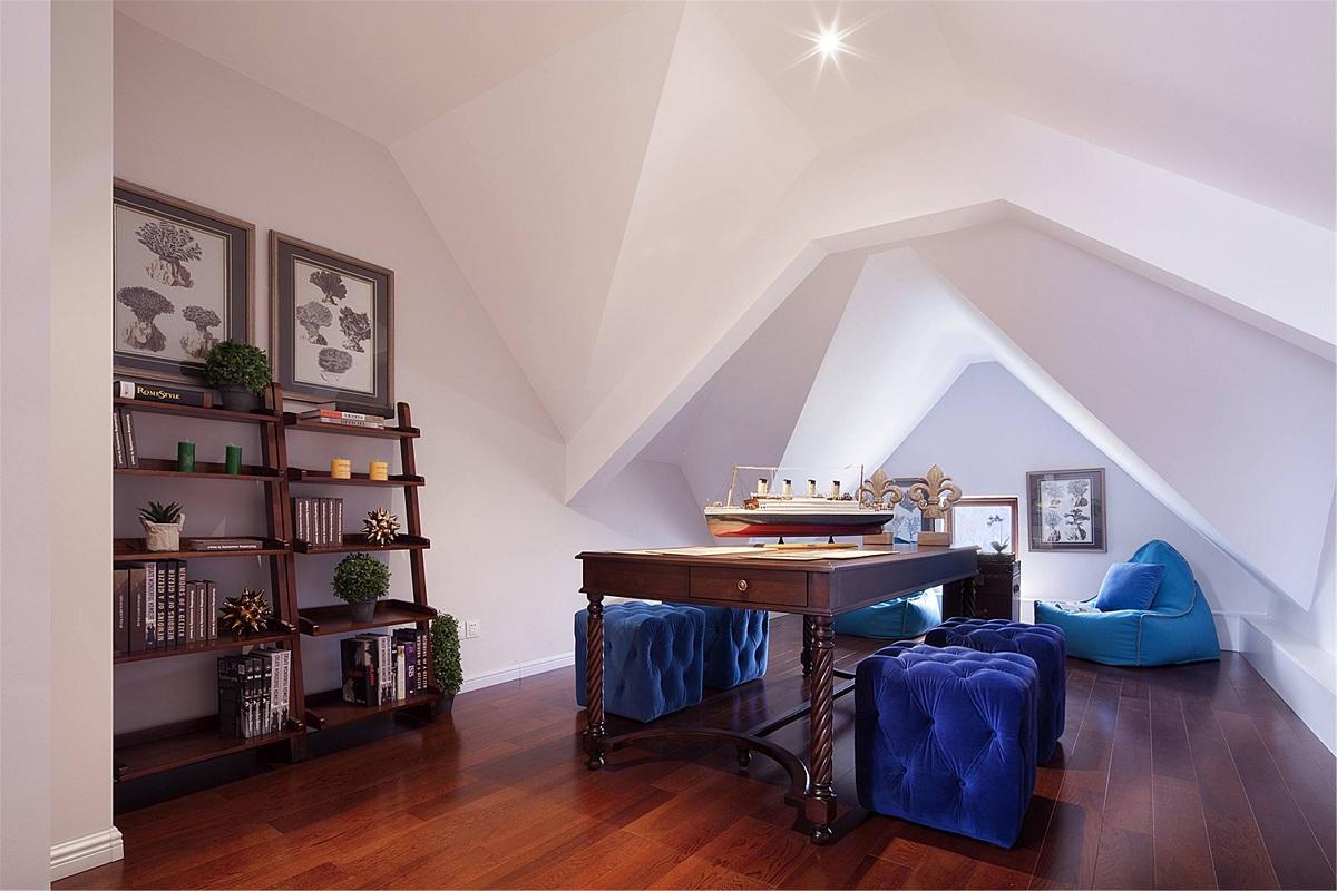小平米阁楼装修设计图,小空间也可以很精致