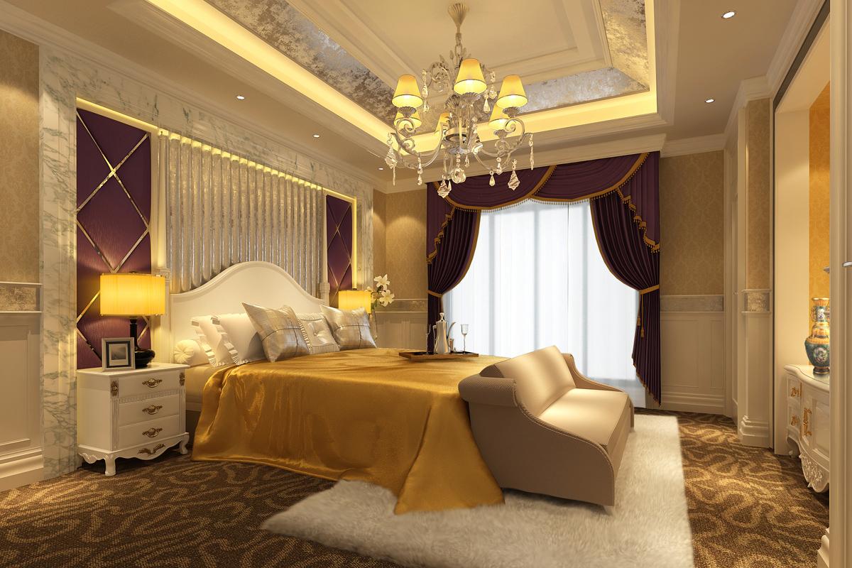 英伦卧室装修效果图,英伦风格卧室的特点