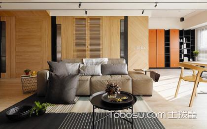 88平米原木风格装修效果图,让你感受温暖