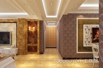 走廊地砖造型设计效果图,家装不要忘记给走廊也做个造型