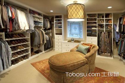 小衣帽间装修设计方案介绍,实用又美观
