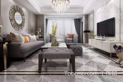 小面积客厅过道波打线效果图,小客厅过道波打线如何设计
