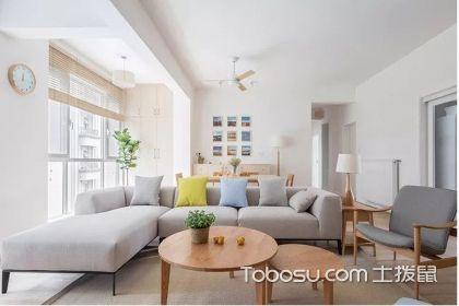 北欧风三室一厅装修案例,这样温馨文艺的家居空间你一定会喜欢