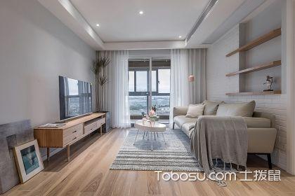 刚需小三房装修设计案例,北欧风格让家充满简洁之感