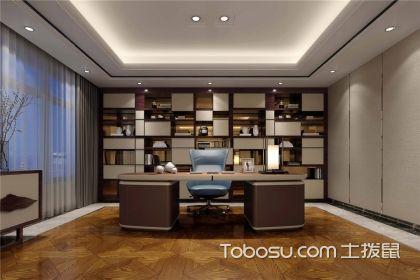 中式书房装修效果图,专业设计体现传统精髓
