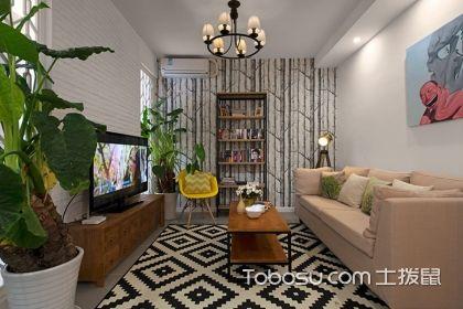 60平米两室一厅装修图,小户型一样可以有格调