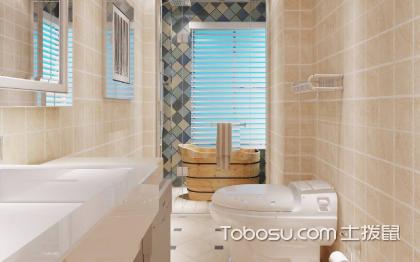 小户型卫生间铺什么颜色瓷砖好看?看看别人家