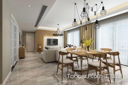 客餐廳一體裝修效果圖,讓家居空間更寬敞通透