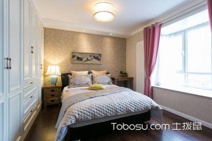 宜家风格卧室装修效果图,简约清新又不失实用