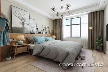 北欧卧室装修效果图,简约温馨又不失时尚品味图片