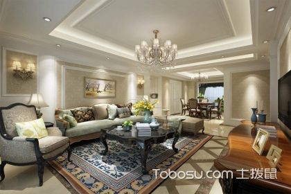 沙发背景墙装修案例,让客厅更温馨时尚