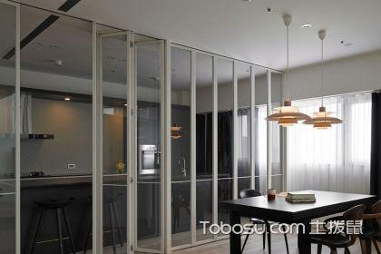 厨房折叠门效果图欣赏,厨房折叠使用介绍