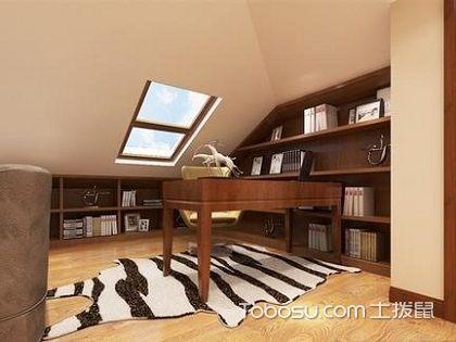 阁楼书房应怎么装修,这样的书房设计谁不爱