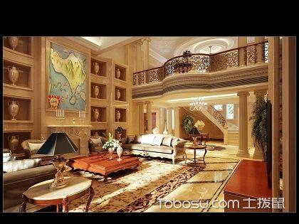 欧式别墅客厅装修,看不同款式的欧式风格