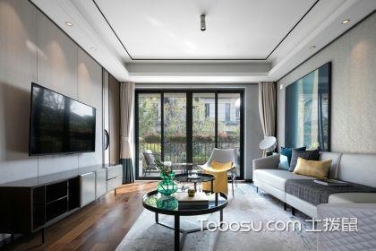 130平三室两厅装修案例,新中式风格让家充满古韵之美