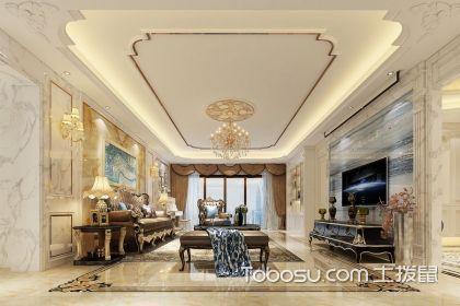 欧式风格客厅家具搭配案例,尽显奢华大气