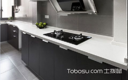 一字型厨房如何布局?一字型厨房设计案例