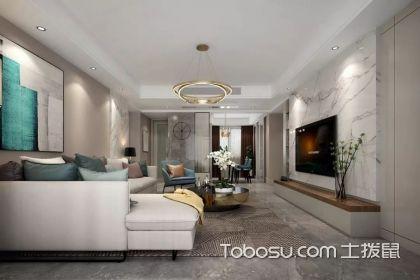 145平米四室两厅装修设计案例,现代轻奢风所诠释的质感空间