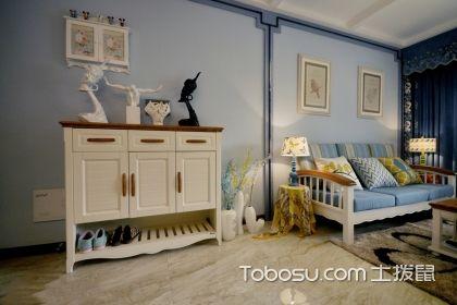 客厅鞋柜装修效果图,美观又实用