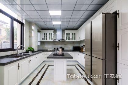 走廊式厨房装修效果图,让你下厨更顺畅