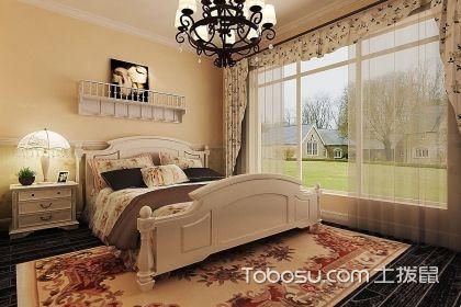 美式田园风格卧室装修要点,温馨浪漫的卧室让人心醉
