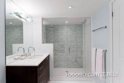 浴室玻璃門裝修圖片,讓空間更通透