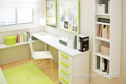 转角书房装修效果图,转角书房设计方法