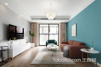 合肥103平小四室装修案例,9万打造北欧风格新居