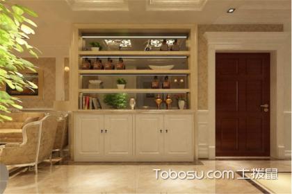 欧式客厅酒柜效果图,别有风情的酒柜设计