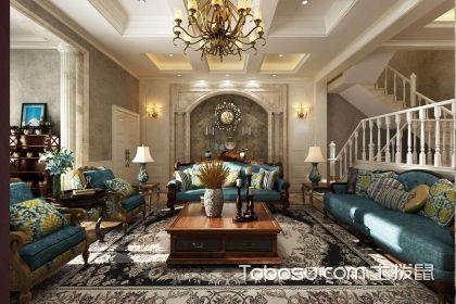 美式风格客厅如何进行软装搭配,美式风格客厅软装饰搭配设计