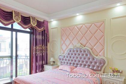 粉色田园卧室装修效果图,让卧室美的无法无天