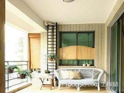 美式阳台装修介绍,用舒适来包围生活