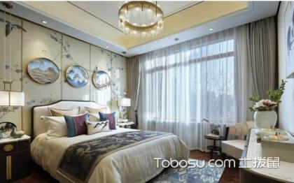 卧室背景墙装修效果图,这样装太美了