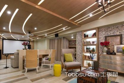 地下室客厅装修,别具特色的空间设计