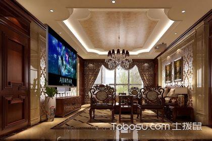 欧式中式混搭客厅,客厅欧式中式混搭风格设计搭配方案