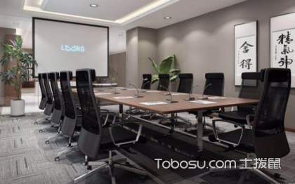新中式办公室装修效果图,具有韵味的办公室空间