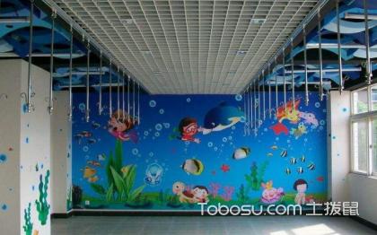 幼儿园手绘墙图片,富有个性的手绘墙