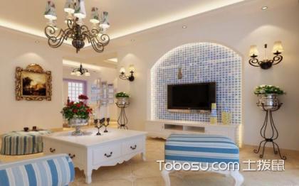 客厅墙壁全贴瓷砖装修案例,最高档的装修案例
