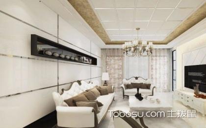 简欧客厅装修效果图,典雅和大气并存