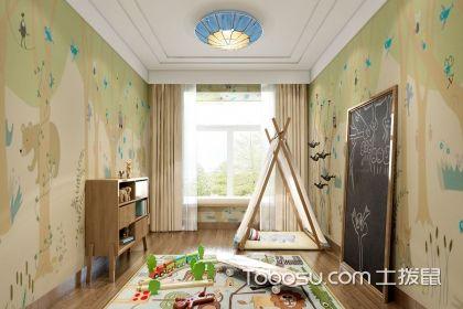 儿童房家装壁纸颜色怎么搭配?壁纸色彩搭配介绍