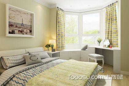 卧室飘窗窗帘怎么安装?拐角飘窗窗帘安装技巧介绍